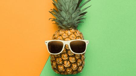 emploi été, emploi étudiant, ananas, lunette