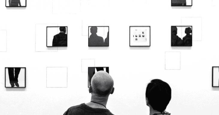 vocation en art, exposition, arts visuels,