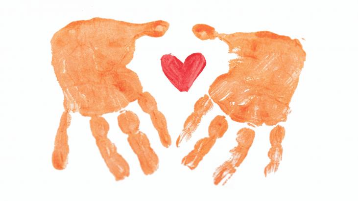 coeur, main, Lyana, Audrey, avoir le coeur à la bonne place, CHU sainte-Justine, CJEMY, Impact,
