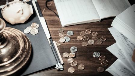 paie, argent, talon de paie, finance, cheque