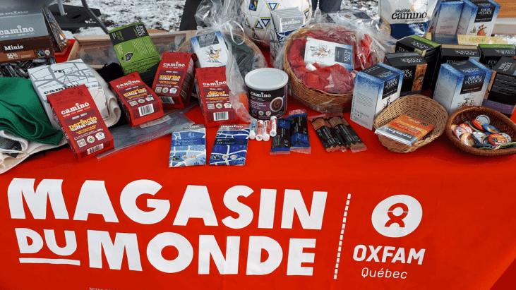 produits équitables, fairtrade canada, oxfam-quebec, magasin du monde, kiosque