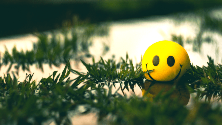 Motivation pour reussir, happy face